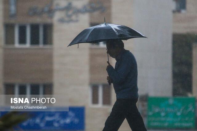 بارش شدید باران در آذربایجان شرقی از روز سه شنبه