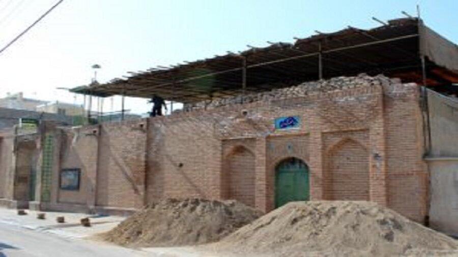 مرمت مسجد تاریخی ملامهدی شروع شد