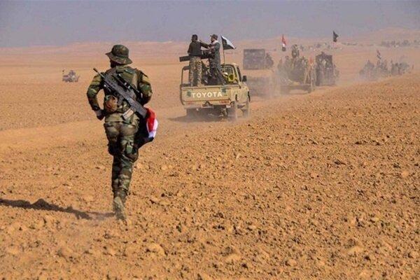 حشد شعبی یورش تروریست های داعش به الأنبار را ناکام گذاشت