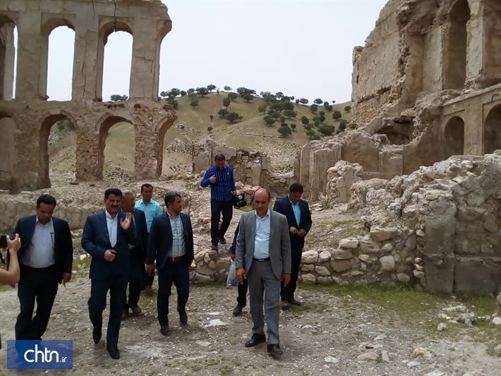 قلعه تاریخی دیشموک در کهگیلویه و بویراحمد مرمت اضطراری می گردد