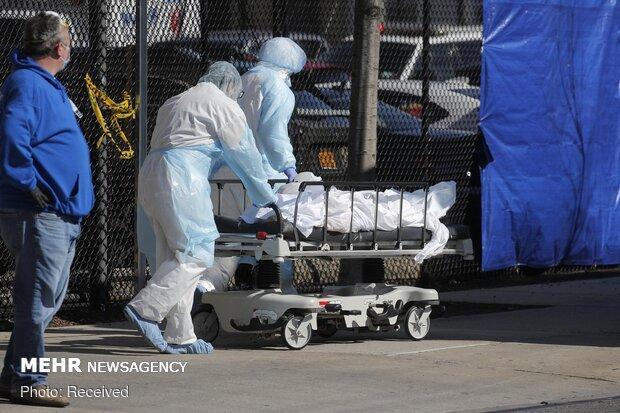تعداد مرگ و میر کرونا در آمریکا از 12 هزار نفر گذشت