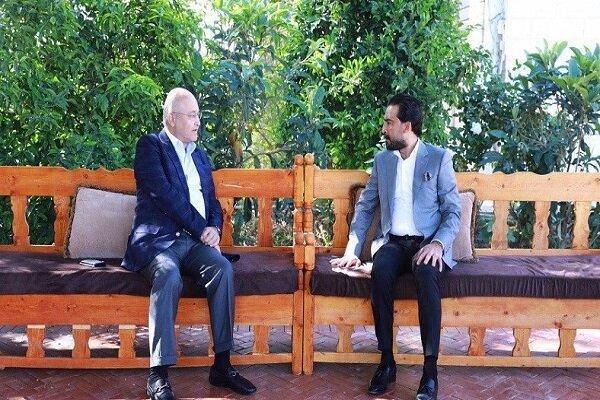 رایزنی حلبوسی با رئیس جمهوری عراق درباره تشکیل دولت جدید