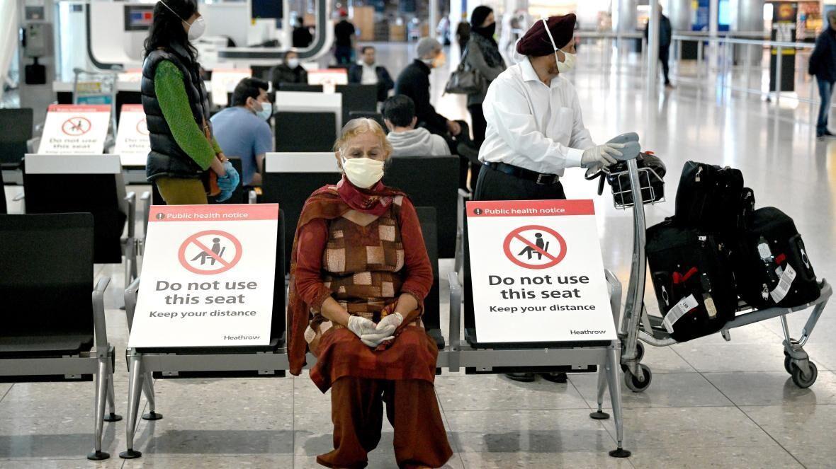 نصب حسگر در فرودگاه هیترو لندن برای تشخیص علائم کرونا