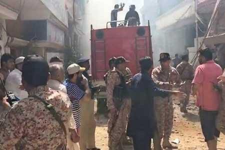 سقوط هواپیمای مسافربری در پاکستان (