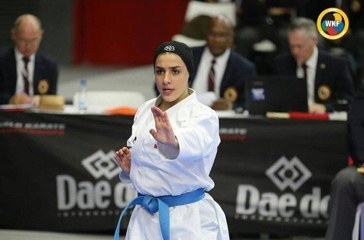 صادقی: می خواهم جزو نفرات المپیکی کاراته باشم