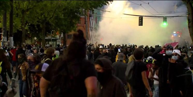 مرگ مشکوک یک معترض آمریکایی مقابل ساختمان کنگره