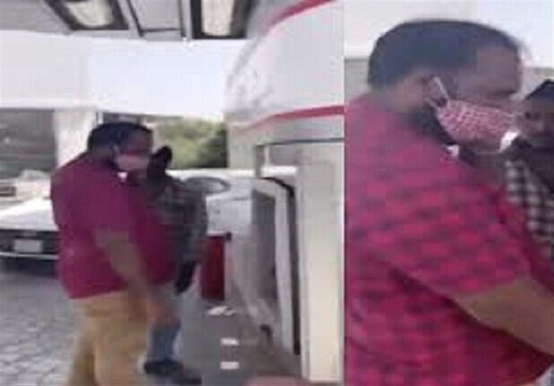 عربستان، ضرب و شتم کارگر بنگلادشی توسط شهروند نژادپرست سعودی
