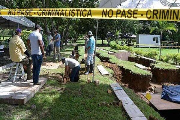 گور جمعی قربانیان حمله آمریکا در پاناما کشف شد