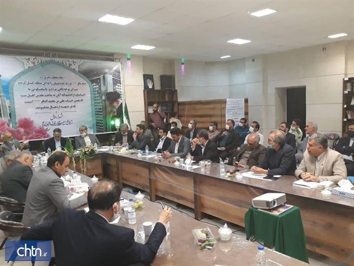 طرح جامع آستان امام زاده سلطان علی در مشهد اردهال با ضوابط میراث فرهنگی اجرا می شود