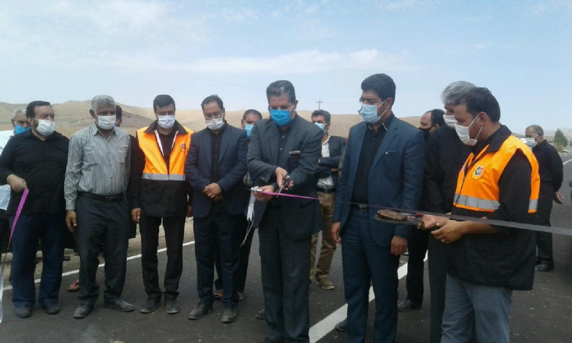 افتتاح چندین طرح عمرانی و خدماتی در شهرستان کوهبنان