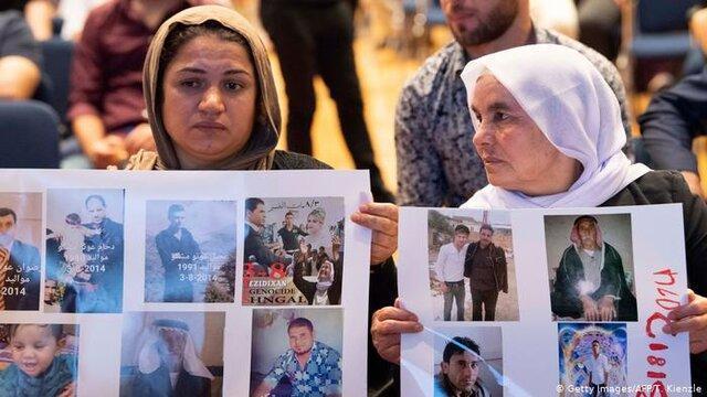 داعش 7600 ایزدی را ربوده و یا کشته است