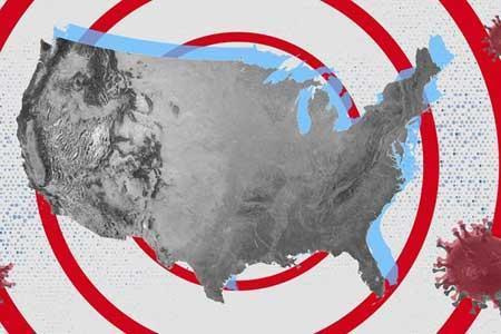 افزایش 44 هزار نفری مبتلایان به کرونا در آمریکا