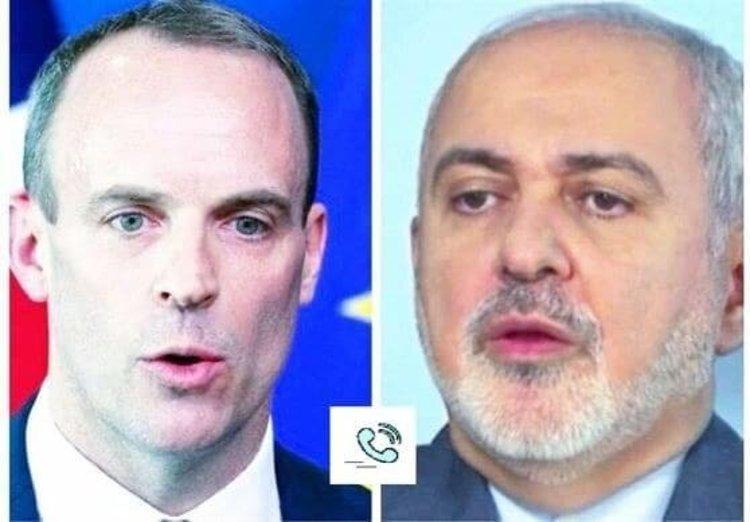 گفت وگوی ظریف با وزیر خارجه انگلیس