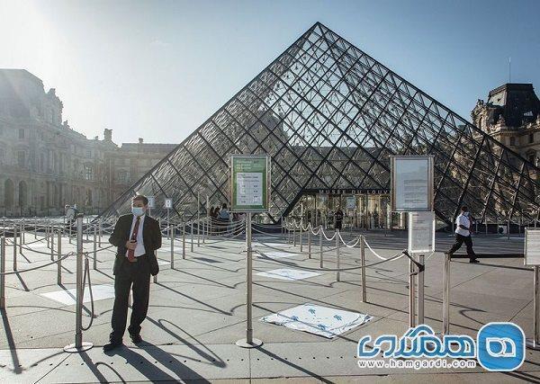 اعلام تمدید تعطیلی کرونایی موزه های فرانسه