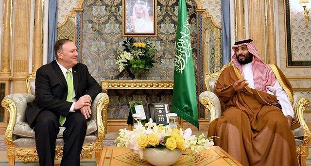 خاورمیانه محور دیدار پمپئو و بن سلمان