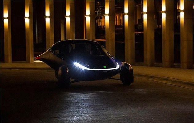 خودروی خورشیدی که هرگز شارژ نمی گردد