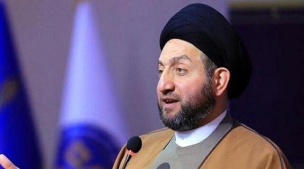 حکیم: ثبات سیاسی کلید حل مسائل است، سفر پاپ به عراق پیام آور صلح برای منطقه است