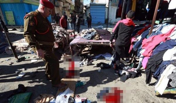 خبرنگاران انصارالله: انفجارهای عراق کار گروه های مورد حمایت آمریکا و عربستان است
