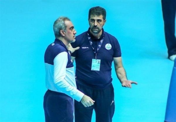 نفرزاده: فدراسیون والیبال با ما همکاری نکرد، دست مان خالی است