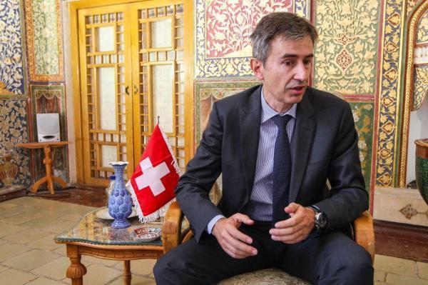 خبرنگاران سفیر سوییس در ایران: سازگاری اقوام و ادیان در گلستان ارزشمند است