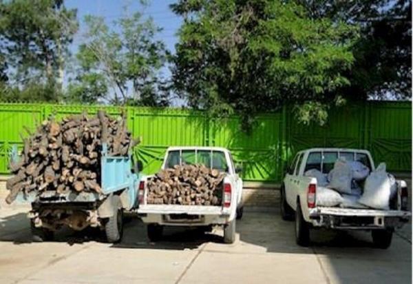 خبرنگاران هفت تن چوب آلات قاچاق جنگلی در اردبیل توقیف شد