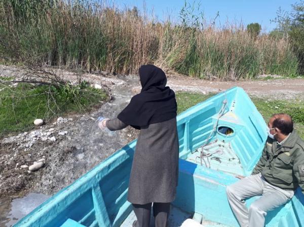 خبرنگاران پایش فصلی و نمونه برداری از رودخانه دز آغاز شد
