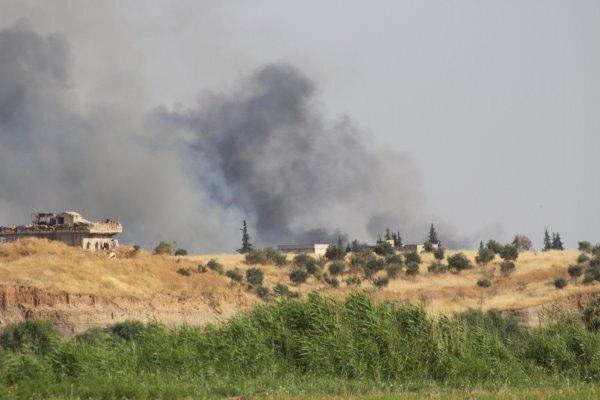 حمله نیروهای دموکراتیک سوریه به جرابلس ، 2 غیرنظامی کشته شدند