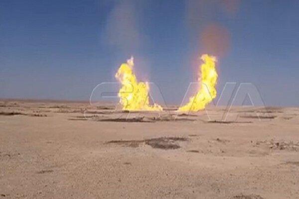 انفجار خط لوله گازی در حومه دیرالزور
