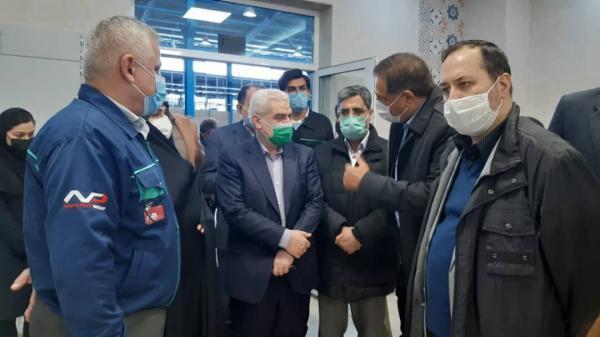 خبرنگاران بازدید معاونین وزیر صنعت از سه واحد صنعتی خراسان رضوی