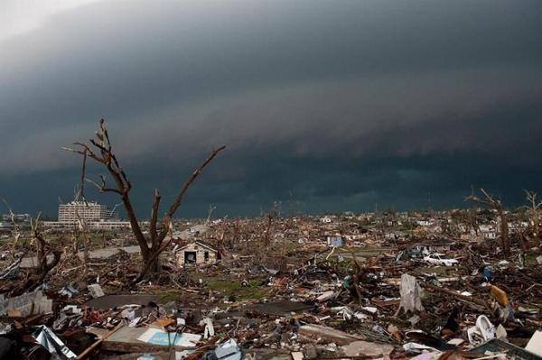 طوفان در چین 10 کشته و صدها مصدوم برجا گذاشت