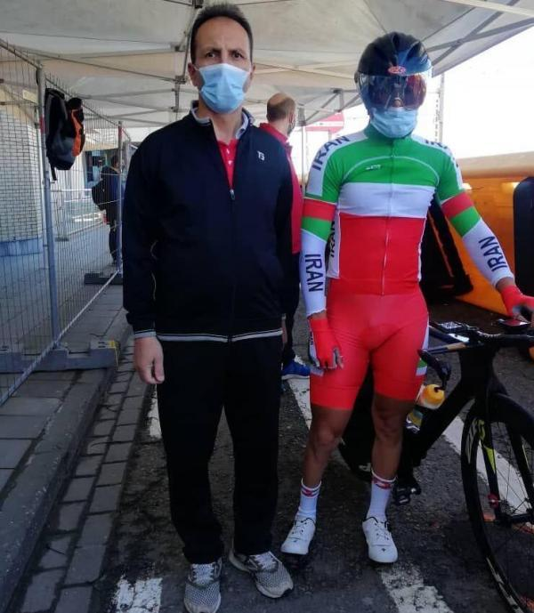 خبرنگاران دوچرخه سوار زنجانی در مسابقات جهانی بلژیک خوش درخشید