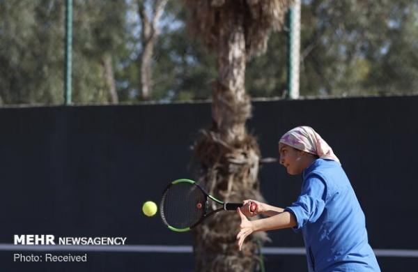 مشکات الزهرا صفی قهرمان تنیس تور جهانی شیراز شد