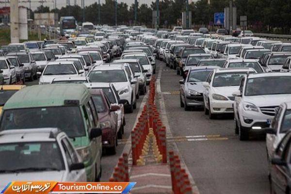 ترافیک سنگین از طرف تهران به شمال