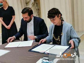 امضای تفاهمنامه میان موزه نیاوران و پوشکین روسیه