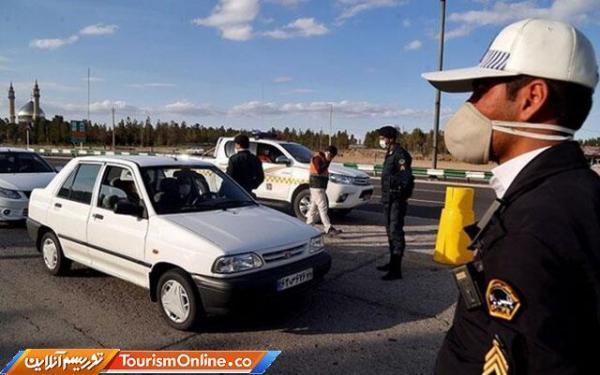 پلیس راه: خودروهای غیربومی راستا مازندران بازگردانده می شوند