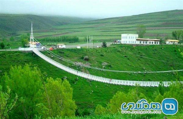 پل معلق مشگین شهر کجاست؛ بزرگترین پل معلق خاورمیانه در ایران