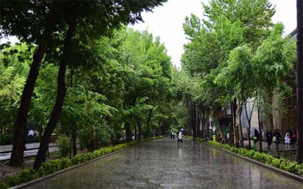 تداوم بارش ها در برخی استان های کشور